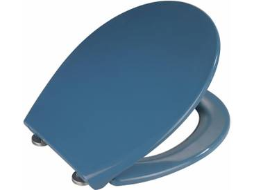 WENKO Premium WC-Sitz »Samos Slate Blue«, blau, blau