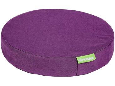 OUTBAG Auflage »Disc pillow PLUS«, wetterfest und robst, für den Außenbereich, Ø: 45 cm, lila, 1 Auflage, lila