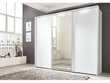 nolte® Möbel Schwebetürenschrank»Marcato 1B« mit Spiegeltür, weiß, weiß Dekor