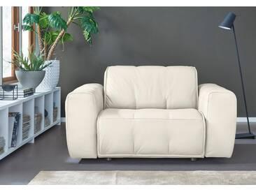 NATUZZI EDITIONS Sessel »Alessio« in zwei Lederqualitäten, weiß, white