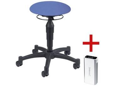 TOPSTAR Sitzhocker inkl. Ladegerät für Smartphones/Tablets »Balance 10« 1 Set, blau, blau
