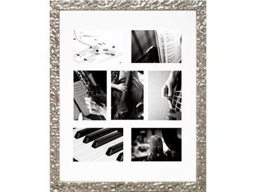 Home affaire Galerierahmen »Melbourne«, für 3 oder 7 Bilder, silberfarben, 40x50 cm, silberfarben