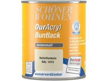 SCHÖNER WOHNEN-Kollektion Schöner Wohnen Farbe Buntlack »DurAcryl seidenmatt, 750 ml hellelfenbein«, natur, natur