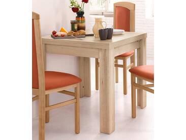 Mäusbacher Tisch, natur, ohne Aufbauservice, Breite 80-136 cm, eichefb. San Remo