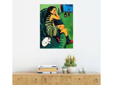 Posterlounge Wandbild - Ernst Ludwig Kirchner »Artistin - Marcella«, bunt, Acrylglas, 60 x 80 cm, bunt