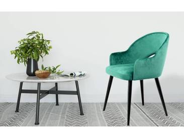 Kayoom Stuhl »Joris« (2er-Set), grün, Maße (B/T/H): 56/47/78 cm, grün