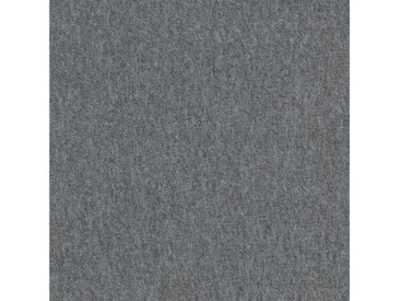 Teppichfliese »Neapel grau«, 4 Stück (1 m²), selbstliegend, grau, grau