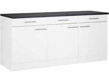 OPTIFIT Unterschrank »Mini«, Breite 180 cm, weiß, weiß