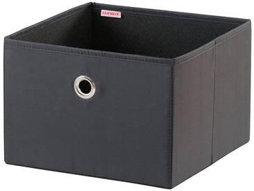 Leifheit LEIFHEIT Aufbewahrungsbox »Groß« 1 Stück, schwarz, schwarz