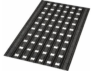 HANSE Home Fußmatte »Optimo«, rechteckig, Höhe 7 mm, grau, 7 mm, grau