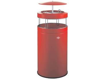 WESCO Standascher 120 Liter mit Dach »Big Ash«, rot