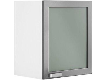 wiho Küchen Glashängeschrank »Husum« Glasrahmentür
