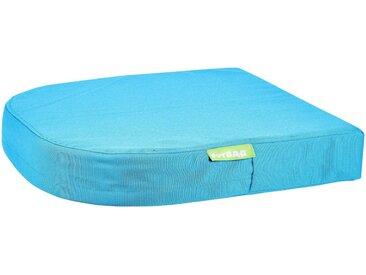 OUTBAG Auflage »Moon pillow PLUS«, robust und wasserdicht, B/L: 45x45 cm, blau, 1 Auflage, aquablau