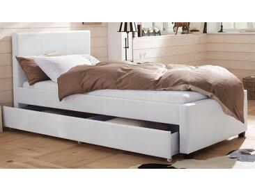 Home affaire Polsterbett »Maja«, in unterschiedlichen Bettgrößen, in zwei schönen Farbvarianten, weiß, cremeweiß