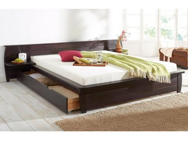 Home affaire Bett, »Acora«, separat zu bestellen, braun, 180/200 cm, kolonialfarben