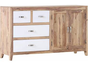 Gutmann Factory Sideboard, Breite 150 cmSideboard »Vienna« mit 2 Holztüren und 4 Schubladen, Breite 150 cm, natur, natur/weiß