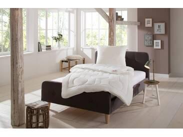 Paradies 4-Jahreszeitenbett + Microfaserkissen, »Set Holst.-Vari. SU 17«, Geprüfte Qualität, 4-Jahreszeiten