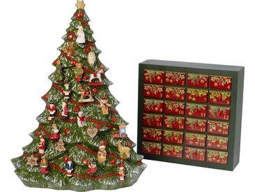 Villeroy & Boch Adventskalender Baum »Christmas Toys Memory«, grün, 53cm, grün