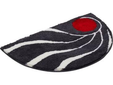 Colani Badematte » 18« , Höhe 24 mm, rutschhemmend beschichtet, fußbodenheizungsgeeignet, grau, 24 mm, anthrazit