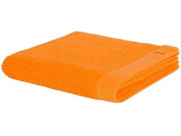 Möve Handtücher »New Essential«, mit Perlstruktur, orange, Walkfrottee, orange