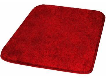 MEUSCH Badematte »Mona« , Höhe 30 mm, rutschhemmend beschichtet, fußbodenheizungsgeeignet, rot, 30 mm, granat