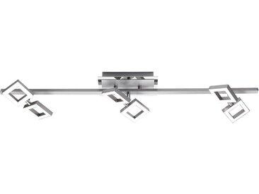 Paul Neuhaus Deckenleuchte »TWINS«, 6-flammig, inklusive festverbautem LED Leuchtmittel,Spots verstellbar, Dimmbar über externen Dimmer,3000 Kelvin