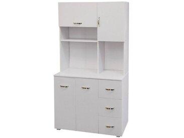 HTI-Line Küchenschrank Blanca, weiß, Weiß