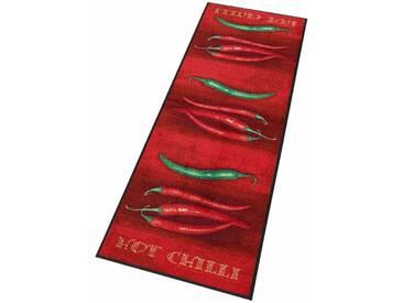 wash+dry by Kleen-Tex Läufer »Hot Chili«, rechteckig, Höhe 7 mm, In- und Outdoor geeignet, rot, 7 mm, rot-grün