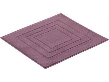 Vossen Badematte »Feeling« , Höhe 10 mm, fußbodenheizungsgeeignet, lila, 10 mm, plum