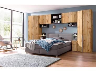 Wimex Schlafzimmer-Set »New York«, natur, Höhe 236 cm, plankeneichefarben