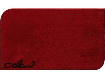 Colani Badematte » 40« , Höhe 24 mm, rutschhemmend beschichtet, fußbodenheizungsgeeignet, rot, 24 mm, rot