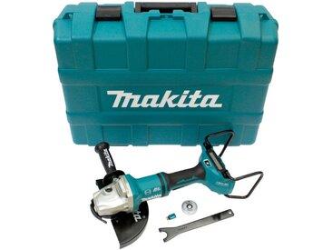 Makita MAKITA Akku-Winkelschleifer »DGA901ZKU2«, 2 x 18 V, 230 mm, ohne Akku und Ladegerät, blau, blau