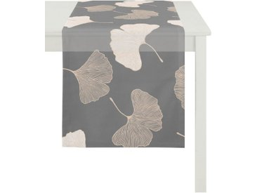 APELT Tischläufer »Gala, Loft Style« (1-tlg), Ausbrenner, grau, anthrazit-kupferfarben