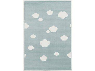 Happy Rugs Kinderteppich, SKY CLOUD mint/weiss, 160 x 230 cm, grün, mint