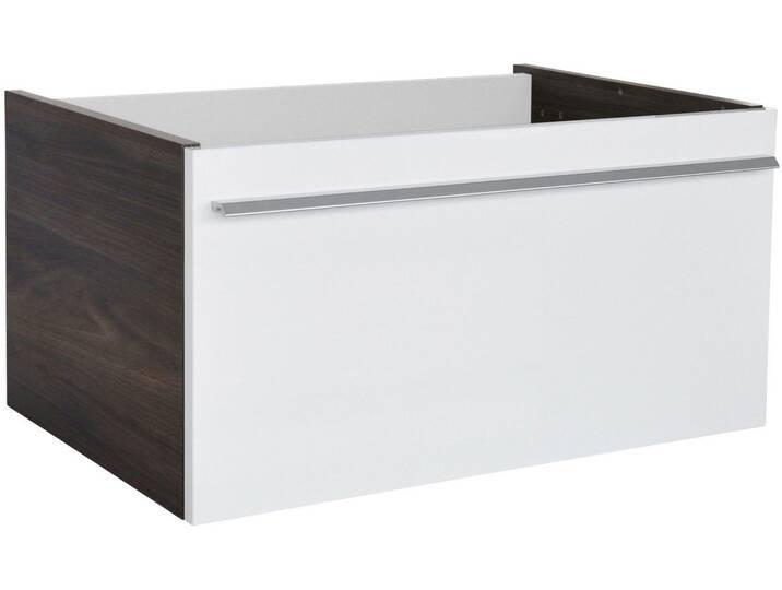 FACKELMANN Waschtischunterbau »Yega«, Breite 59,5 cm, weiß, braun/weiß Weiß