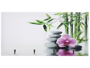 MCW Garderobenpaneel »-C75 Asien kleine Haken«, natur, Kho Samui