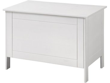 welltime WELLTIME Wäschekorb »Venezia«, Wäschebox, Breite 70 cm, weiß, weiß