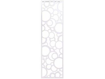 heine home Wandgarderobe und Memoboard in Einem, weiß, ca. 140/40/2 cm, groß, weiß