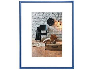 Hama Kunststoffrahmen Sevilla, Blau, Polystyrol, 21 x 29,7 cm »DIN A4«, blau, Blau