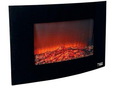 Einhell EINHELL Elektrisches Kaminfeuer »EF 1800«, 900-1.800 W, schwarz, schwarz