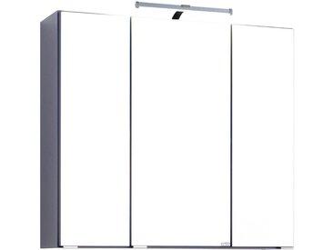 HELD MÖBEL Spiegelschrank »Texas«, Breite 70 cm, grau, anthrazit