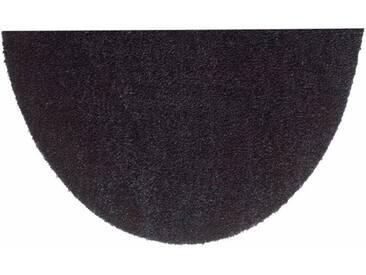 HANSE Home Fußmatte »Deko Soft«, U-förmig, Höhe 7 mm, saugfähig, waschbar, grau, 7 mm, anthrazit