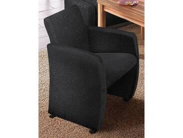 Max Winzer® Sessel »Noah«, schwarz, schwarz