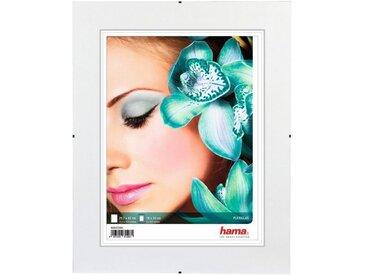 Hama Rahmenloser Bildhalter Clip-Fix, Polystyrol, 29,7 x 42 cm, weiß, Weiss