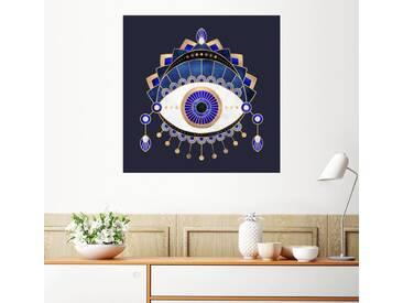 Posterlounge Wandbild - Elisabeth Fredriksson »Blue Eye«, bunt, Leinwandbild, 120 x 120 cm, bunt