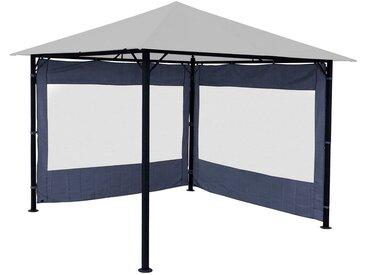 Quick Star QUICK STAR Seitenteile für Pavillon »Nizza«, für 300x300 cm, 2 Stk., grau, für 3 x 3 m Pavillon, grau