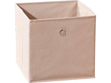 INOSIGN Faltbox »Winny Beige«, braun, Maße (B/T/H): 32/32/32 cm, braun