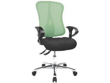 TOPSTAR Bürostuhl mit Armlehnen »Sitness 90«, grün-schwarz