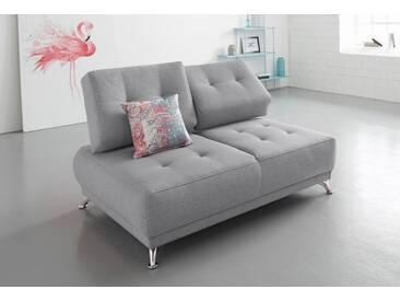 Bruno Banani bruno banani 2-Sitzer Sofa mit Steppung, grau, mittelgrau
