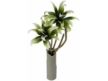 Kunstblume »Soft-Magnolie in Vase«, grün, Grün